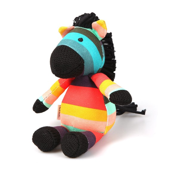 Paul Smith Junior Boys Multicoloured Baby Zebra Soft Toy main image