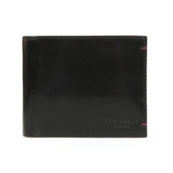 Ted Baker Mens Black Lander Contrast Bifold Wallet main image