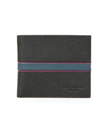 Ted Baker Mens Black Musta Blocking Bifold Wallet