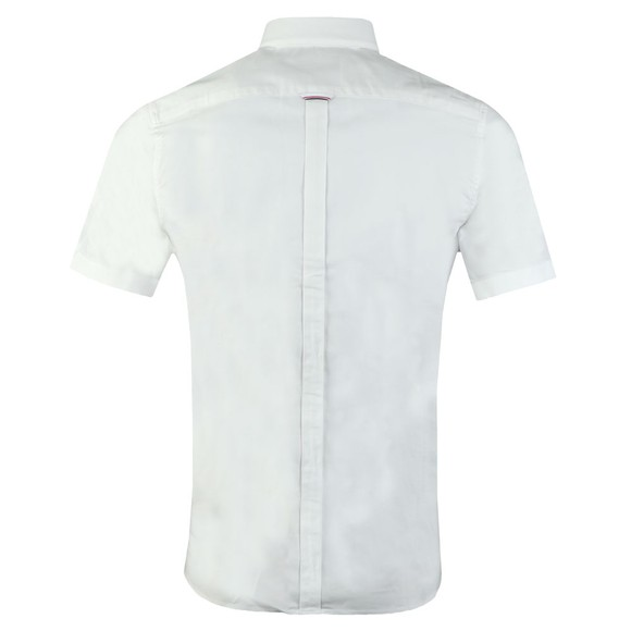 Fred Perry Mens White Classic S/S Oxford Shirt main image