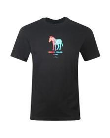 PS Paul Smith Mens Black Zebra Made T-Shirt