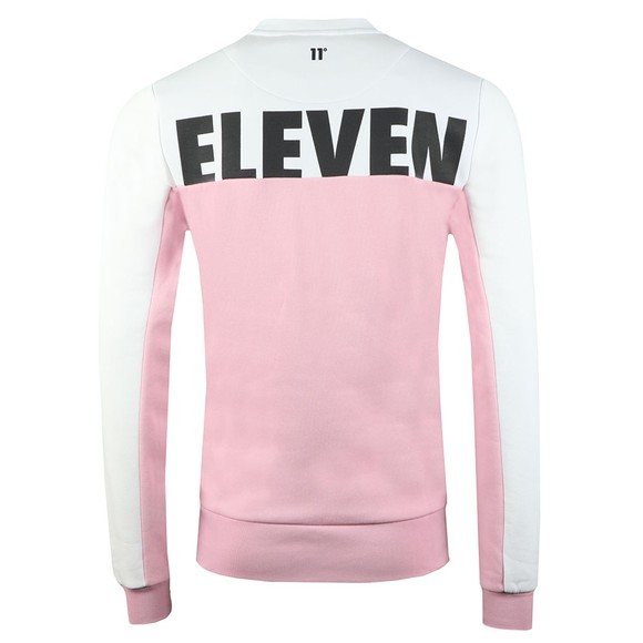 Eleven Degrees Mens Multicoloured Atomix Block Sweatshirt main image