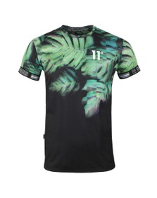 Eleven Degrees Mens Black Tropix Sub T-Shirt