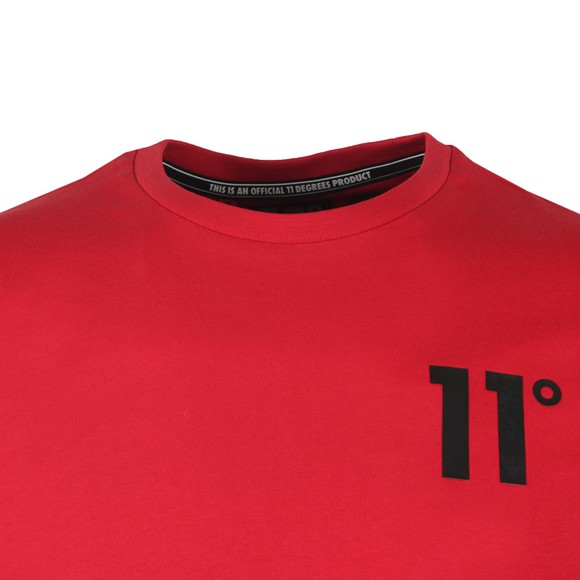 Eleven Degrees Mens Red Core T-Shirt main image