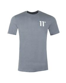 Eleven Degrees Mens Blue Core T-Shirt