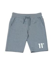 Eleven Degrees Mens Blue Core Sweat Short