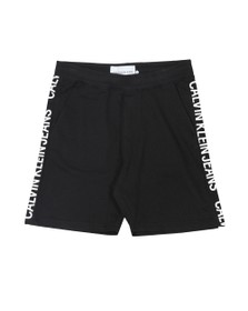Calvin Klein Jeans Mens Black Side Logo Short