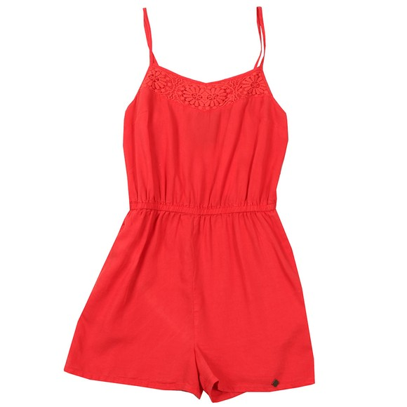 Superdry Womens Pink Tess Playsuit main image