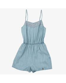 Superdry Womens Blue Tess Playsuit