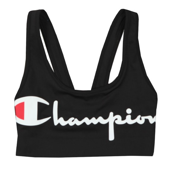 Champion Reverse Weave Womens Black Bra Top