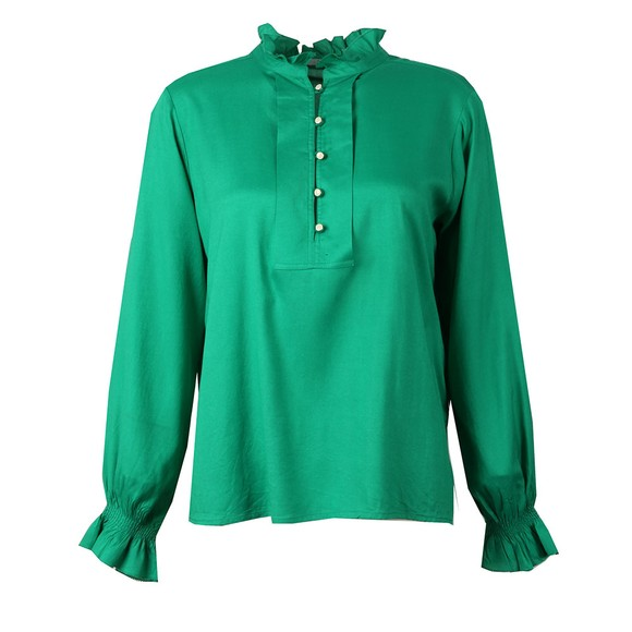 Maison Scotch Womens Green Tunic Top main image