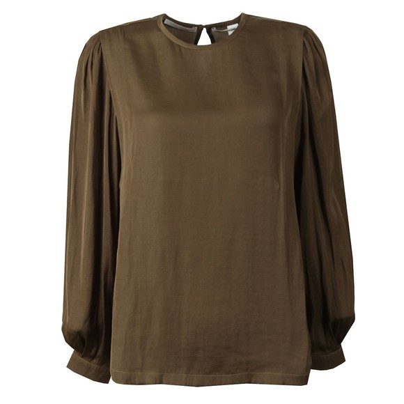 Maison Scotch Womens Green Long Sleeve Top