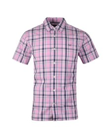 Crew Clothing Company Mens Blue S/S Pendower Shirt