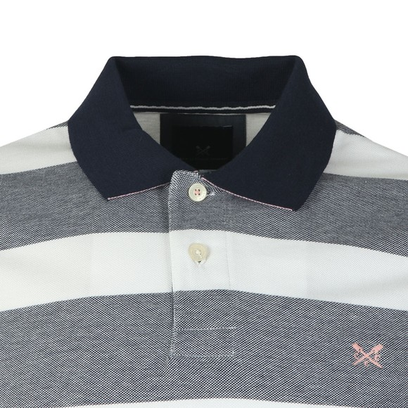 Crew Clothing Company Mens Blue Oxford Polo main image