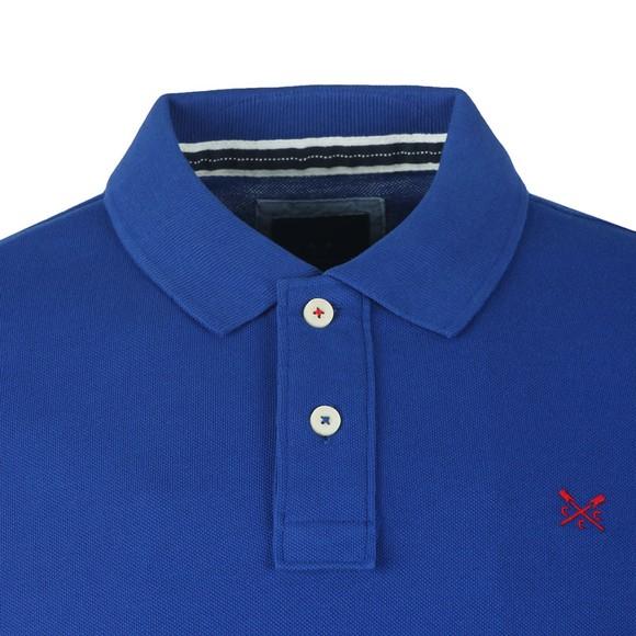 Crew Clothing Company Mens Blue Classic Pique Polo main image
