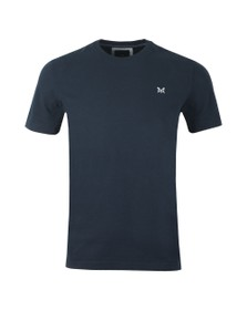 Crew Clothing Company Mens Blue Classic Tee