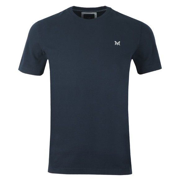 Crew Clothing Company Mens Blue Classic Tee main image