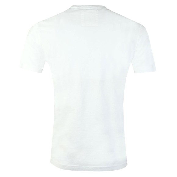 Crew Clothing Company Mens White Classic Tee main image