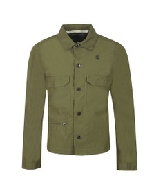 G-Star Mens Green XPO Work Overshirt