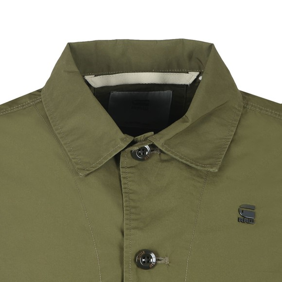 G-Star Mens Green XPO Work Overshirt main image