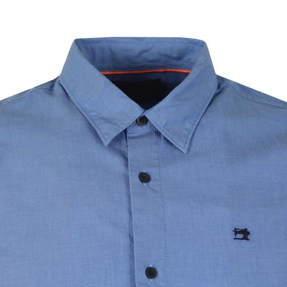 Scotch & Soda Mens Blue Printed Hawaii Shirt main image