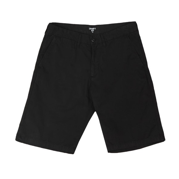 Carhartt Mens Black Johnson Chino Short main image