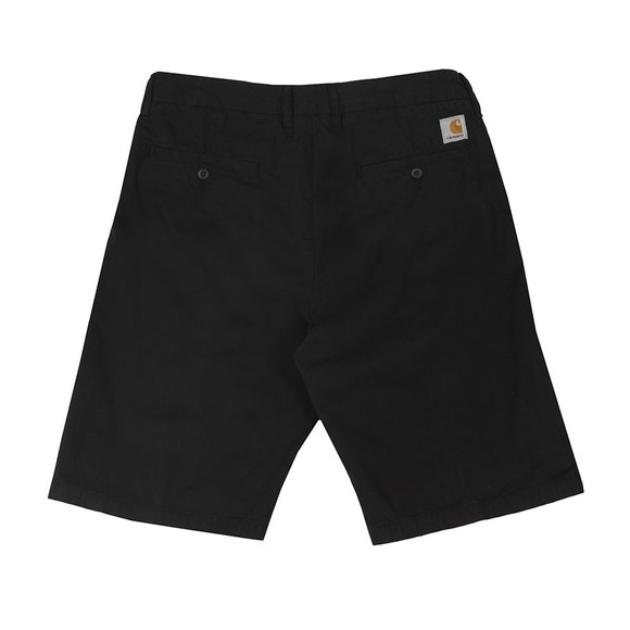 Carhartt WIP Mens Black Johnson Chino Short main image