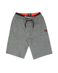 Superdry Mens Grey Laundry Sweat Short