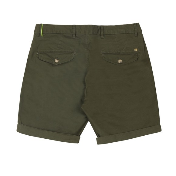 Scotch & Soda Mens Green Stretch Chino Short main image