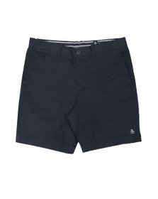 Original Penguin Mens Blue Slim Chino Short
