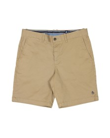 Original Penguin Mens Beige Slim Chino Short