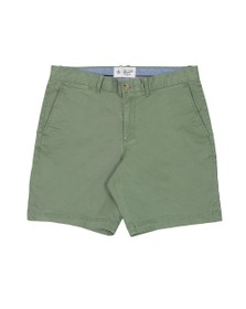 Original Penguin Mens Green Washed Stretch Short
