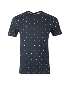 Original Penguin Mens Blue Stars Tee