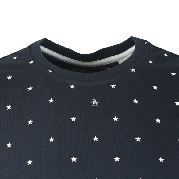 Original Penguin Mens Blue Stars Tee main image