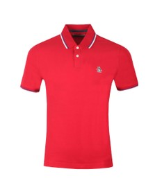 Original Penguin Mens Red Tipped Polo Shirt