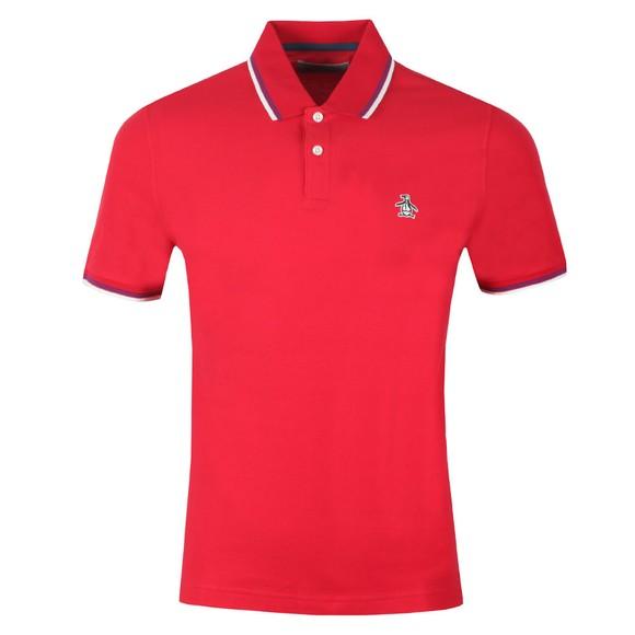 Original Penguin Mens Red Tipped Polo Shirt main image