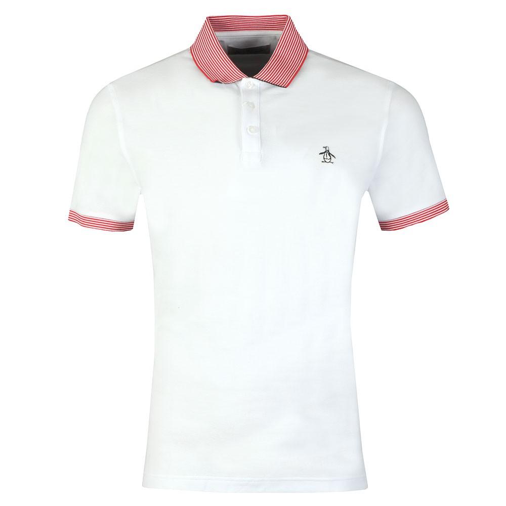 Contrast Collar Polo Shirt main image
