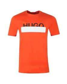 HUGO Mens Orange Dolive 193 T Shirt