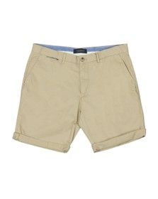 Scotch & Soda Mens Beige Classic Pima Cotton Chino Short
