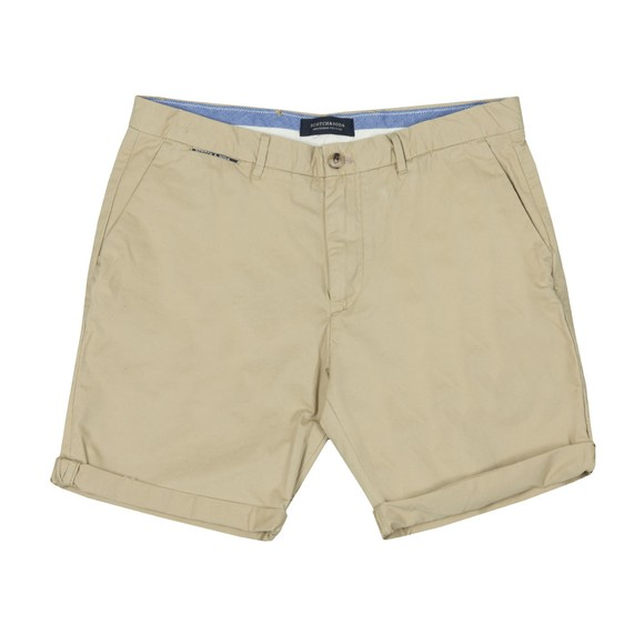 Scotch & Soda Mens Beige Classic Pima Cotton Chino Short main image