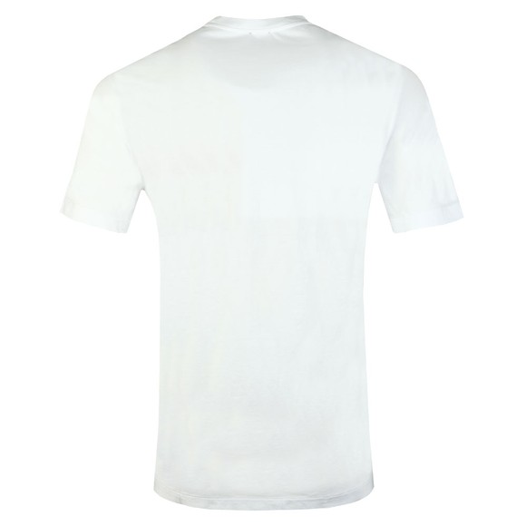 Diesel Mens White Pocket Tee main image