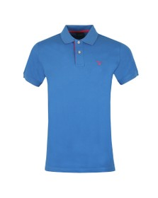 Gant Mens Blue Contrast Collar Polo