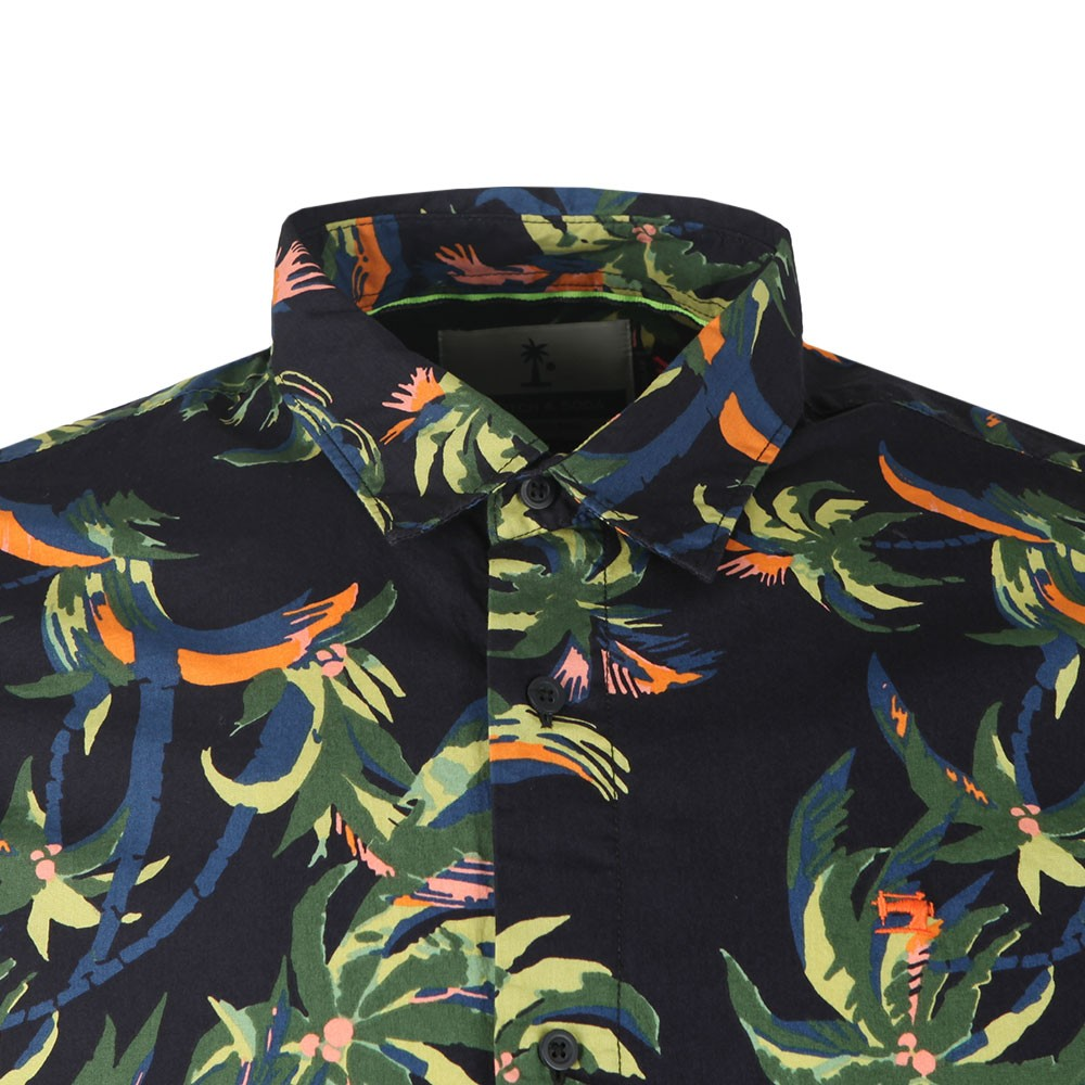 Patterned Short Sleeve Shirt main image