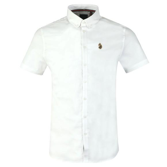 Luke 1977 Mens White Jimmy Stretch Shirt main image