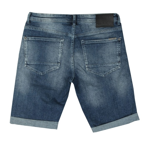 DML Mens Blue Carbon Denim Short main image