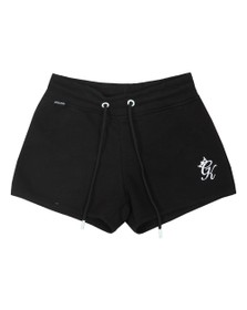 Gym King Womens Black Rebecca Fleece Short