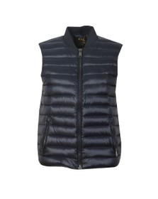 Polo Ralph Lauren Womens Blue Lux Packable Down Gilet