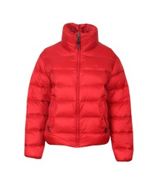 Polo Ralph Lauren Womens Red Bleeker Light Down Jacket