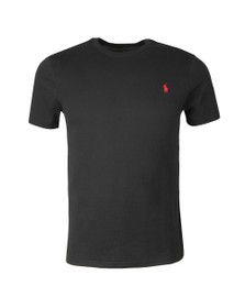 Polo Ralph Lauren Mens Black Custom Slim Fit T-Shirt