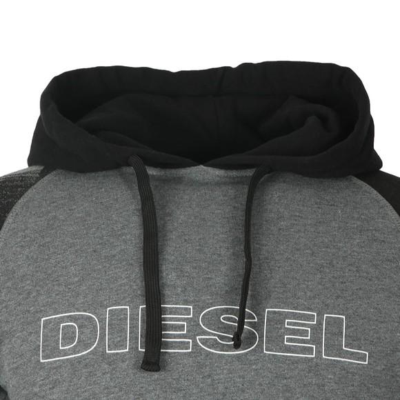 Diesel Mens Grey Brian Hoody main image